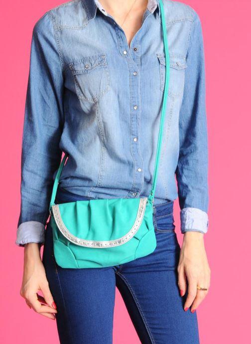 Handtaschen Georgia Rose Mélanie grün ansicht von unten / tasche getragen