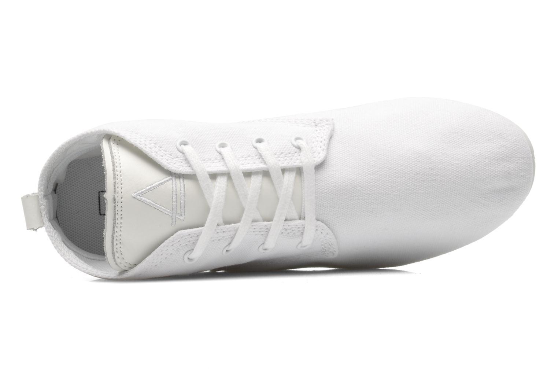 Baskets Eleven paris Basic Colors F Blanc vue gauche