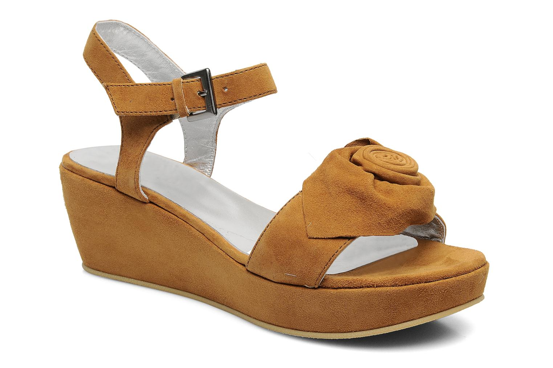 Sandales et nu-pieds M PAR M DESIR Marron vue détail/paire