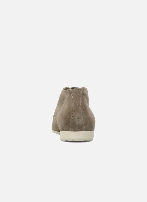 Chaussures à lacets Marvin&Co Nathanael Beige vue droite