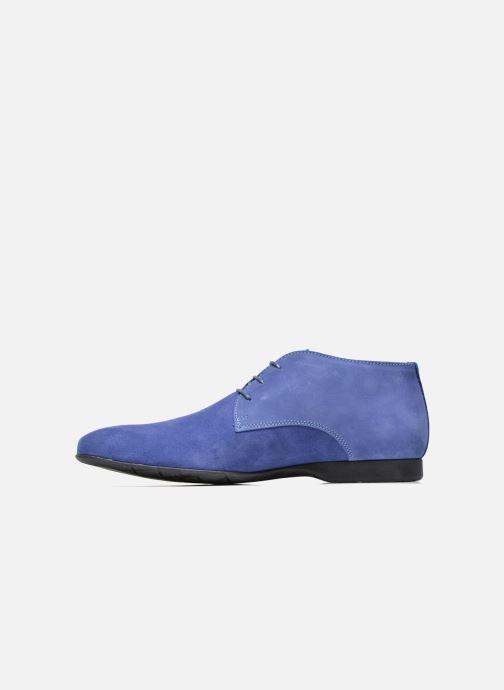 Chaussures à lacets Marvin&Co Nathanael Bleu vue face