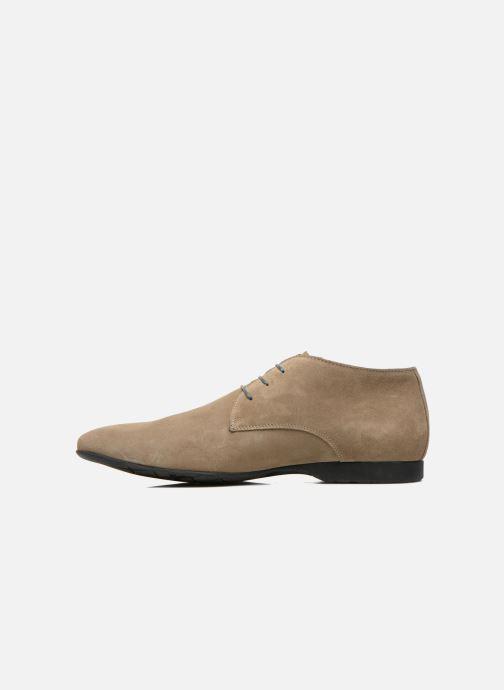 Chaussures à lacets Marvin&Co Nathanael Beige vue face