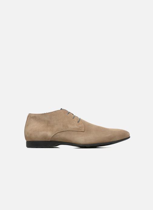 Chaussures à lacets Marvin&Co Nathanael Beige vue derrière