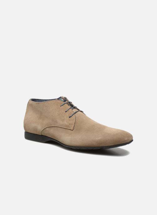 Lace-up shoes Marvin&co Nathanael Beige detailed view/ Pair view