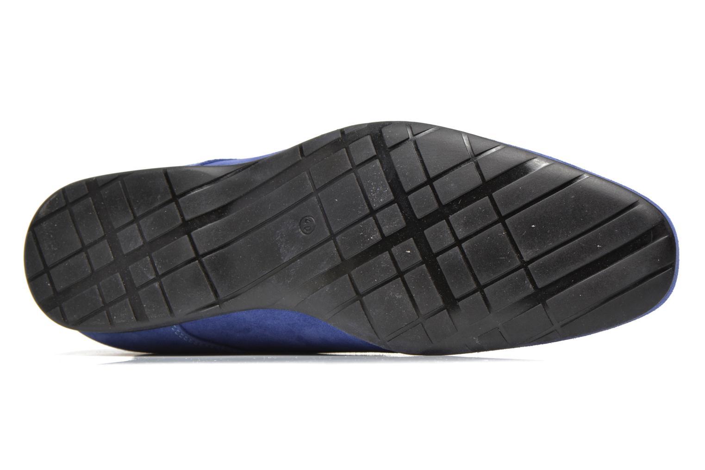 Chaussures à lacets Marvin&Co Nathanael Bleu vue haut