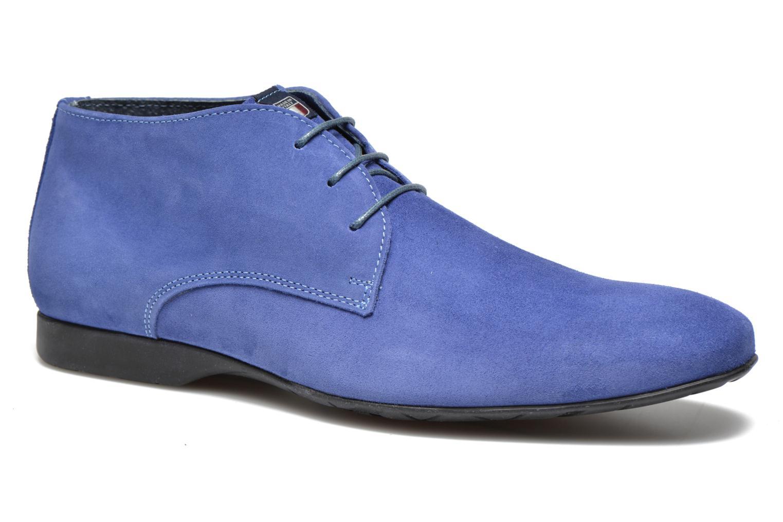 Chaussures à lacets Marvin&Co Nathanael Bleu vue détail/paire