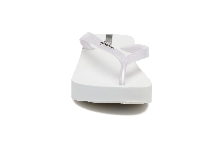 Flip flops Ipanema Brasil Tropical Plat Fem White model view