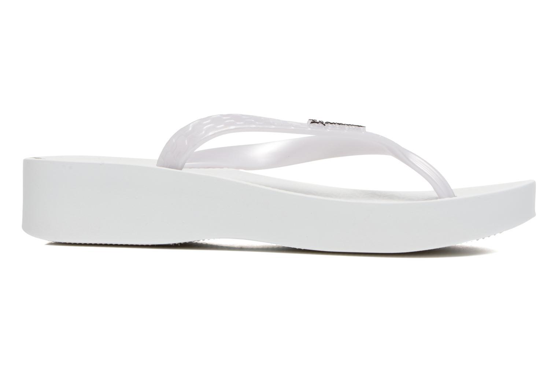 Flip flops Ipanema Brasil Tropical Plat Fem White back view