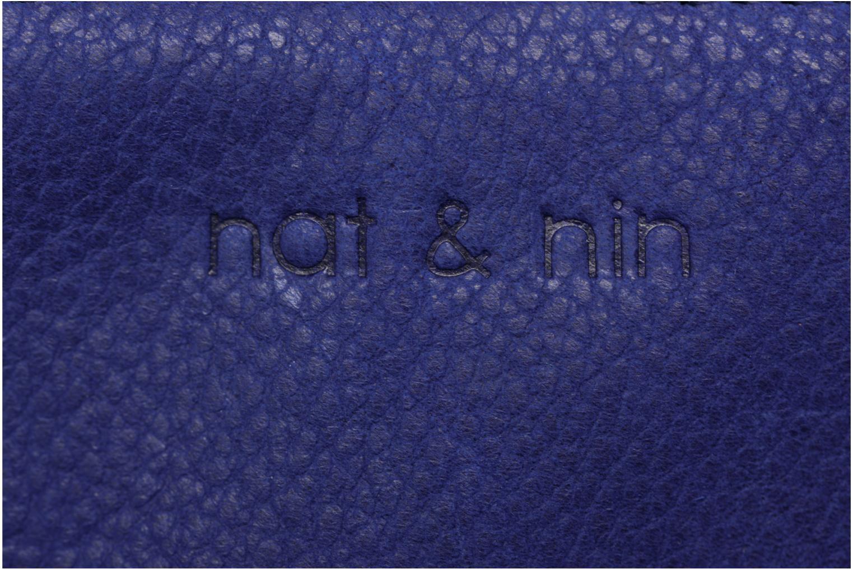 Petite Maroquinerie Nat & Nin Soly Bleu vue gauche
