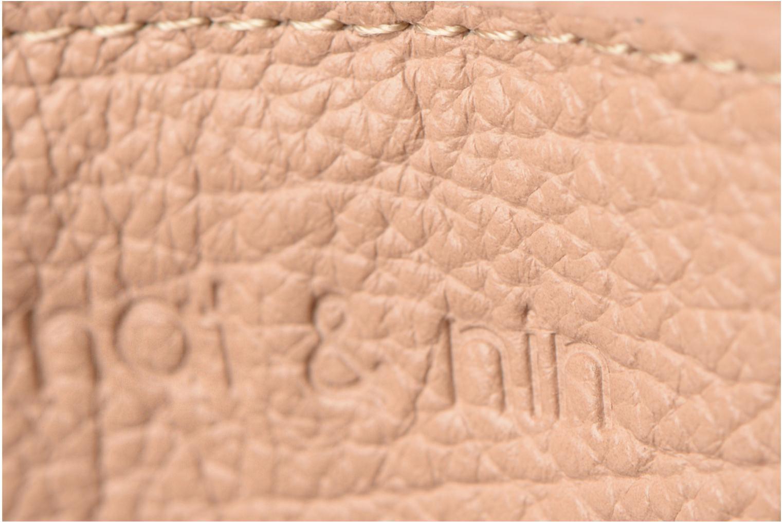 Petite Maroquinerie Nat & Nin Soly Beige vue gauche