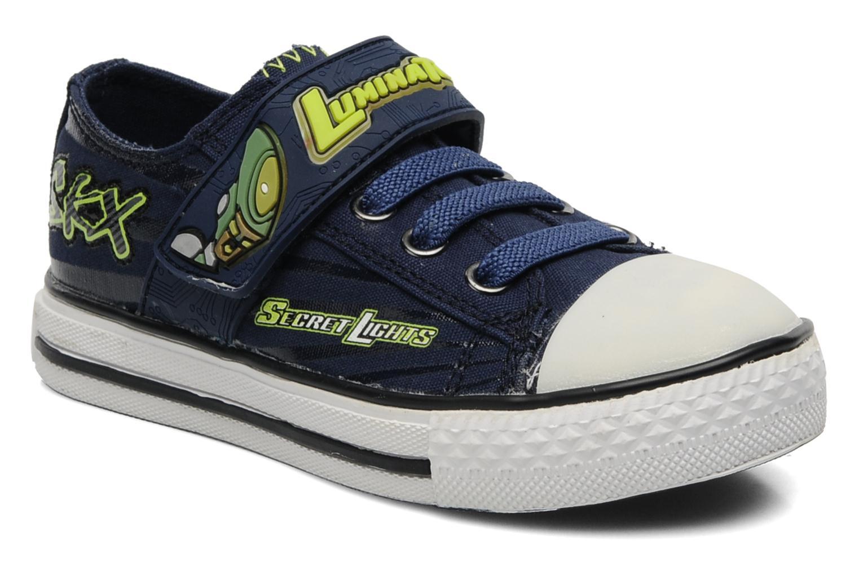 Sneakers Skechers Stoked-Roswell - 90428N Blå detaljerad bild på paret