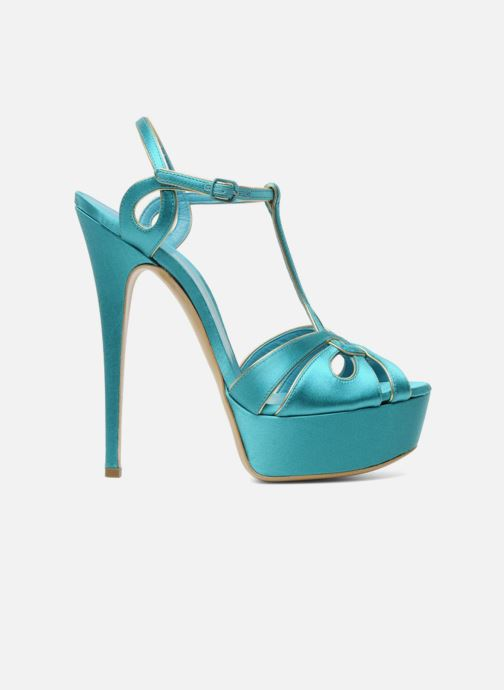 Sandales et nu-pieds Casadei Bibiana Bleu vue derrière