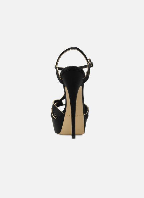 Sandales et nu-pieds Casadei Bibiana Noir vue droite