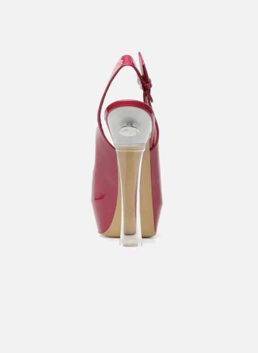 Sandales et nu-pieds Casadei Flaminia Rose vue droite