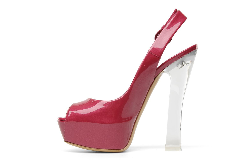Sandalen Casadei Flaminia Roze voorkant