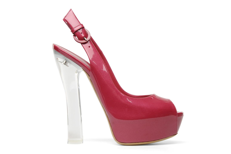 Sandalen Casadei Flaminia Roze achterkant
