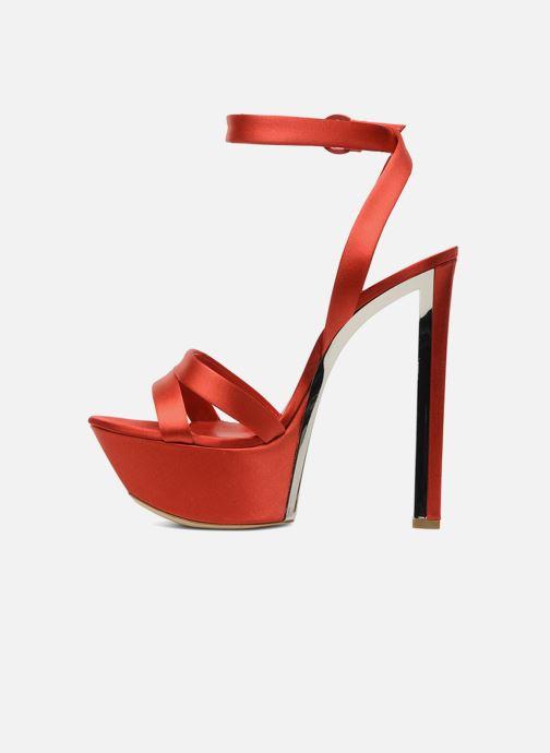 Sandales et nu-pieds Casadei Gioconda Rouge vue face