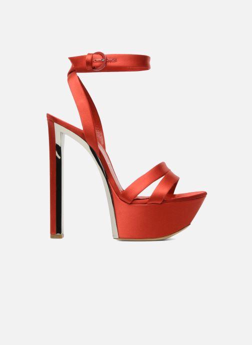 Sandales et nu-pieds Casadei Gioconda Rouge vue derrière