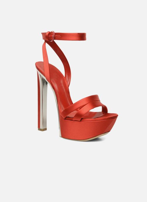 Sandales et nu-pieds Casadei Gioconda Rouge vue détail/paire