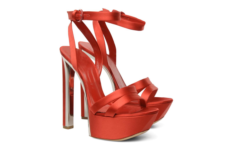 Sandales et nu-pieds Casadei Gioconda Rouge vue 3/4