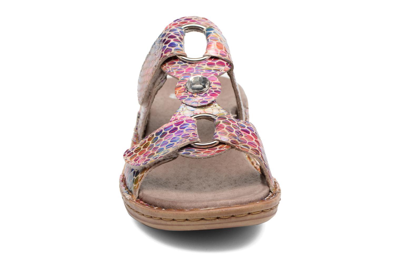 Mules et sabots Ara Hawai Multicolore vue portées chaussures