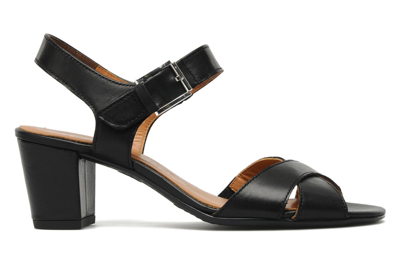 Sandales et nu-pieds Ara BIAR-S Noir vue derrière