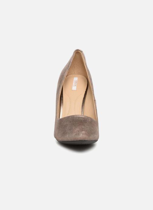 Escarpins Geox D CAROLINE A Marron vue portées chaussures