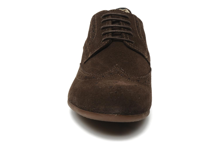 Chaussures à lacets Geox U YALE M Marron vue portées chaussures