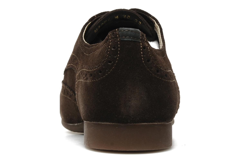 Chaussures à lacets Geox U YALE M Marron vue droite