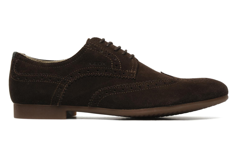 Chaussures à lacets Geox U YALE M Marron vue derrière