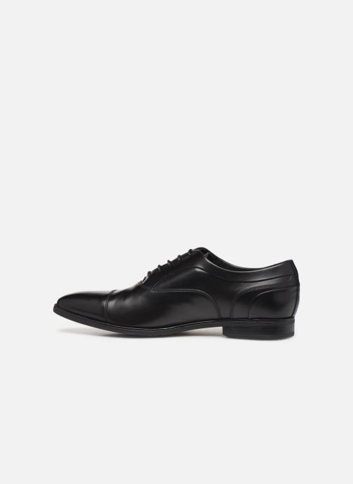 Lace-up shoes Geox U NEW LIFE C Black front view