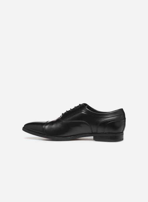 Zapatos con cordones Geox U NEW LIFE C Negro vista de frente