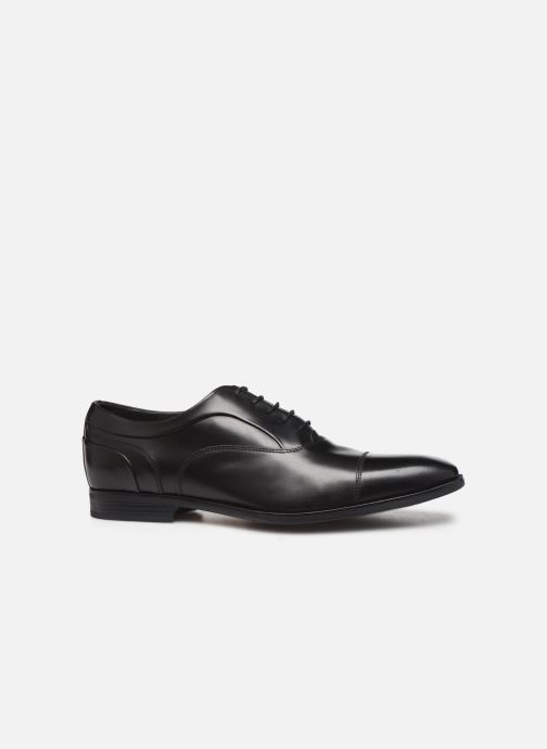 Lace-up shoes Geox U NEW LIFE C Black back view