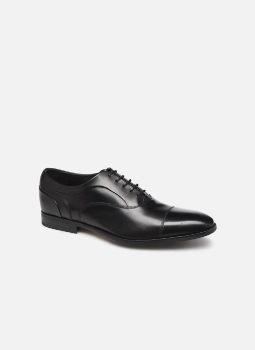 Lace-up shoes Geox U NEW LIFE C Black detailed view/ Pair view