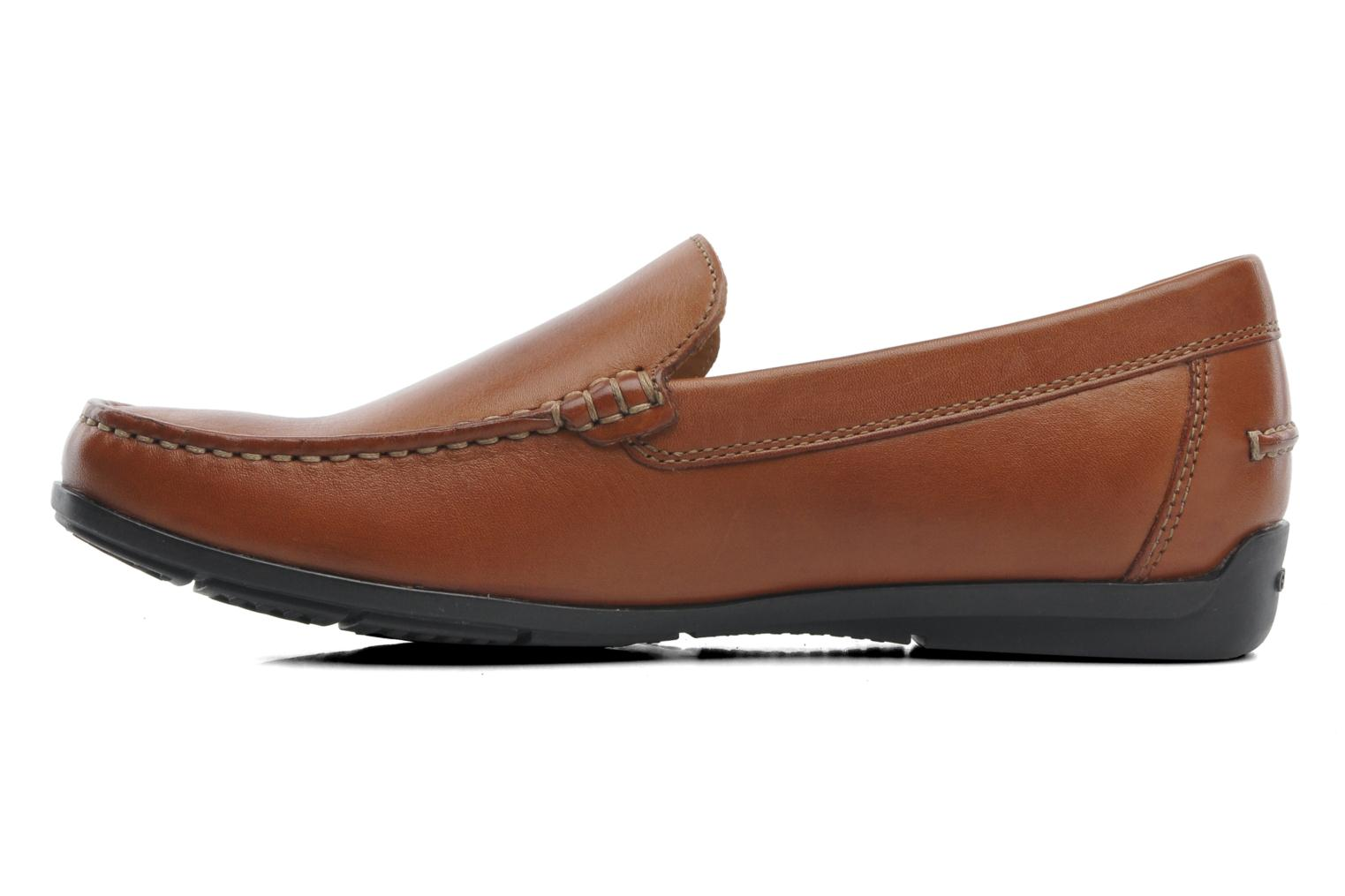 Loafers Geox U SIMON A U32Q3A Brown front view
