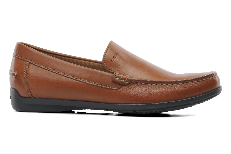 Loafers Geox U SIMON A U32Q3A Brown back view