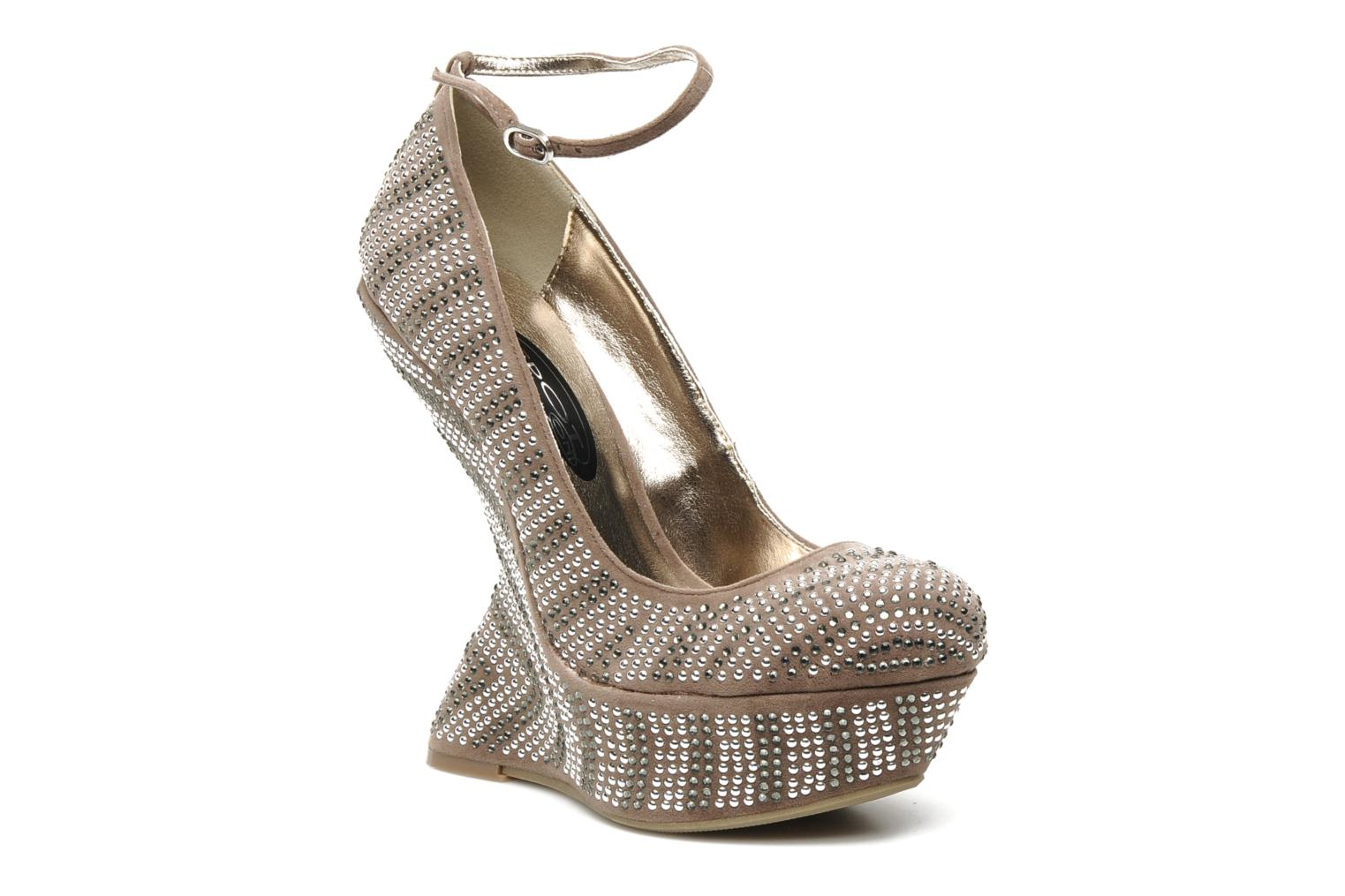 Pumps Spot On Raymondo Beige detail
