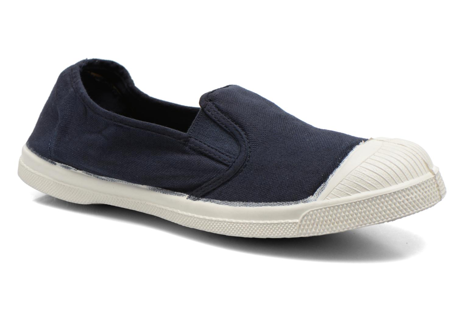 Sneakers Bensimon Tennis Tommy F Blauw detail