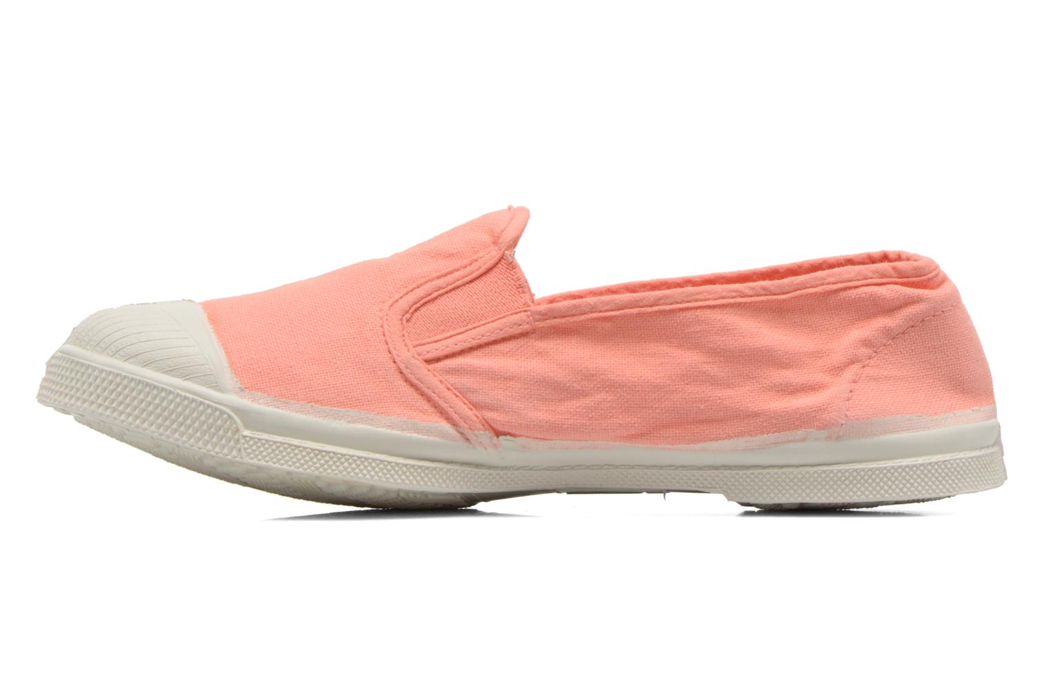 Trainers Bensimon Tennis Tommy F Orange front view