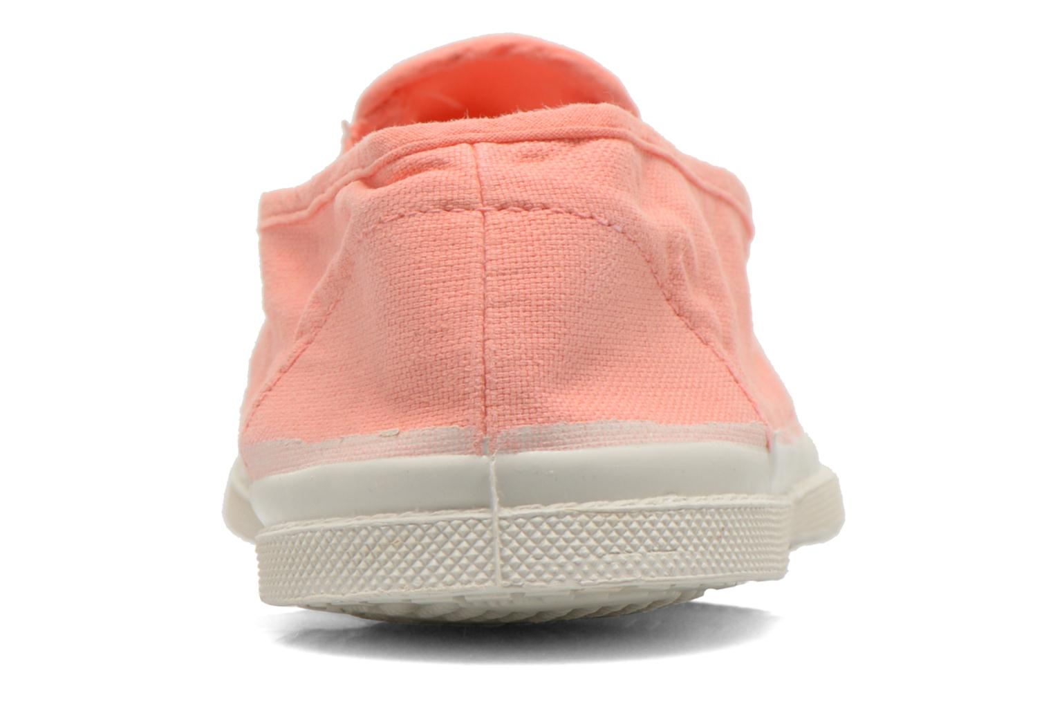 Trainers Bensimon Tennis Tommy F Orange view from the right