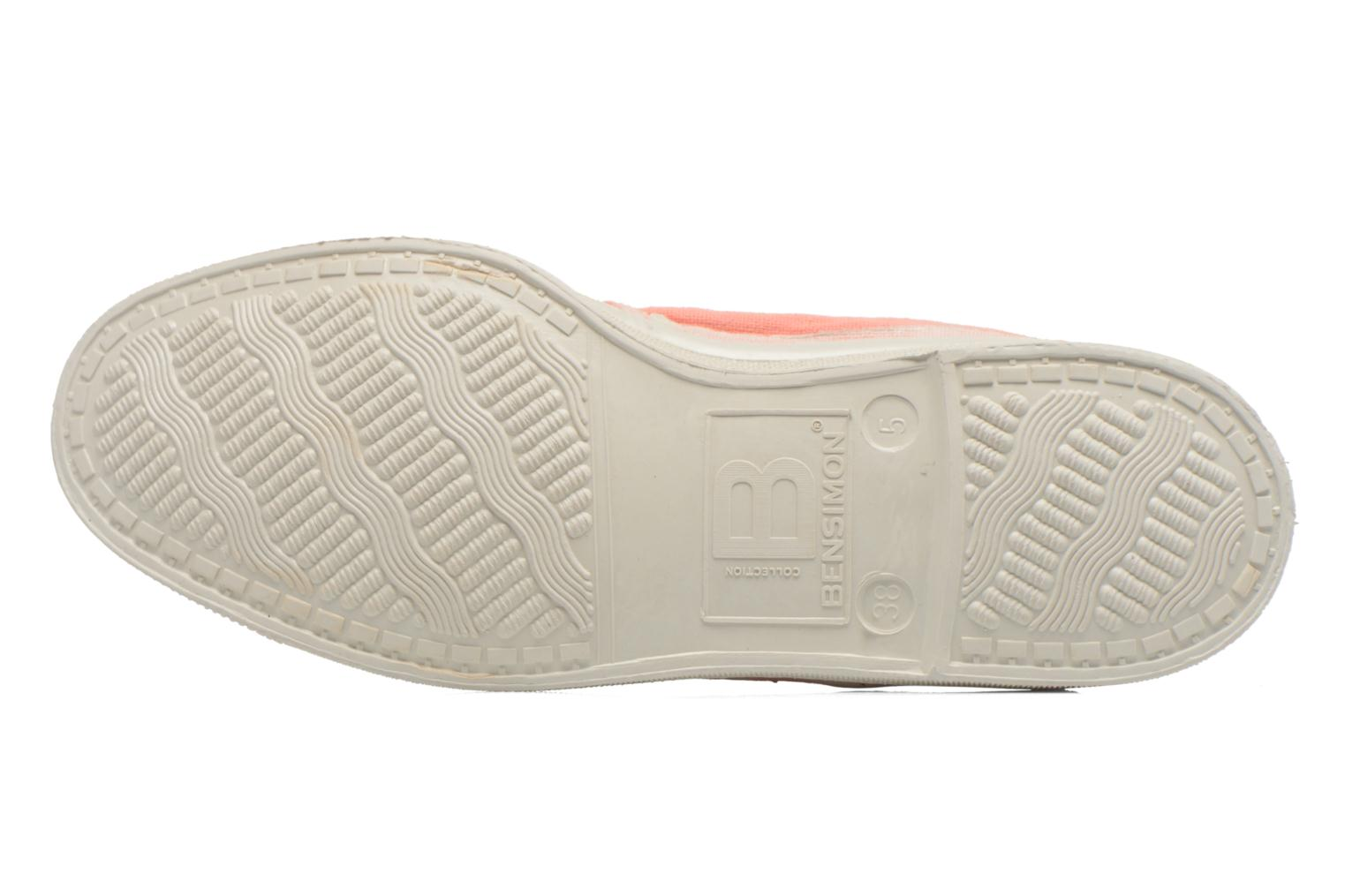 Trainers Bensimon Tennis Tommy F Orange view from above