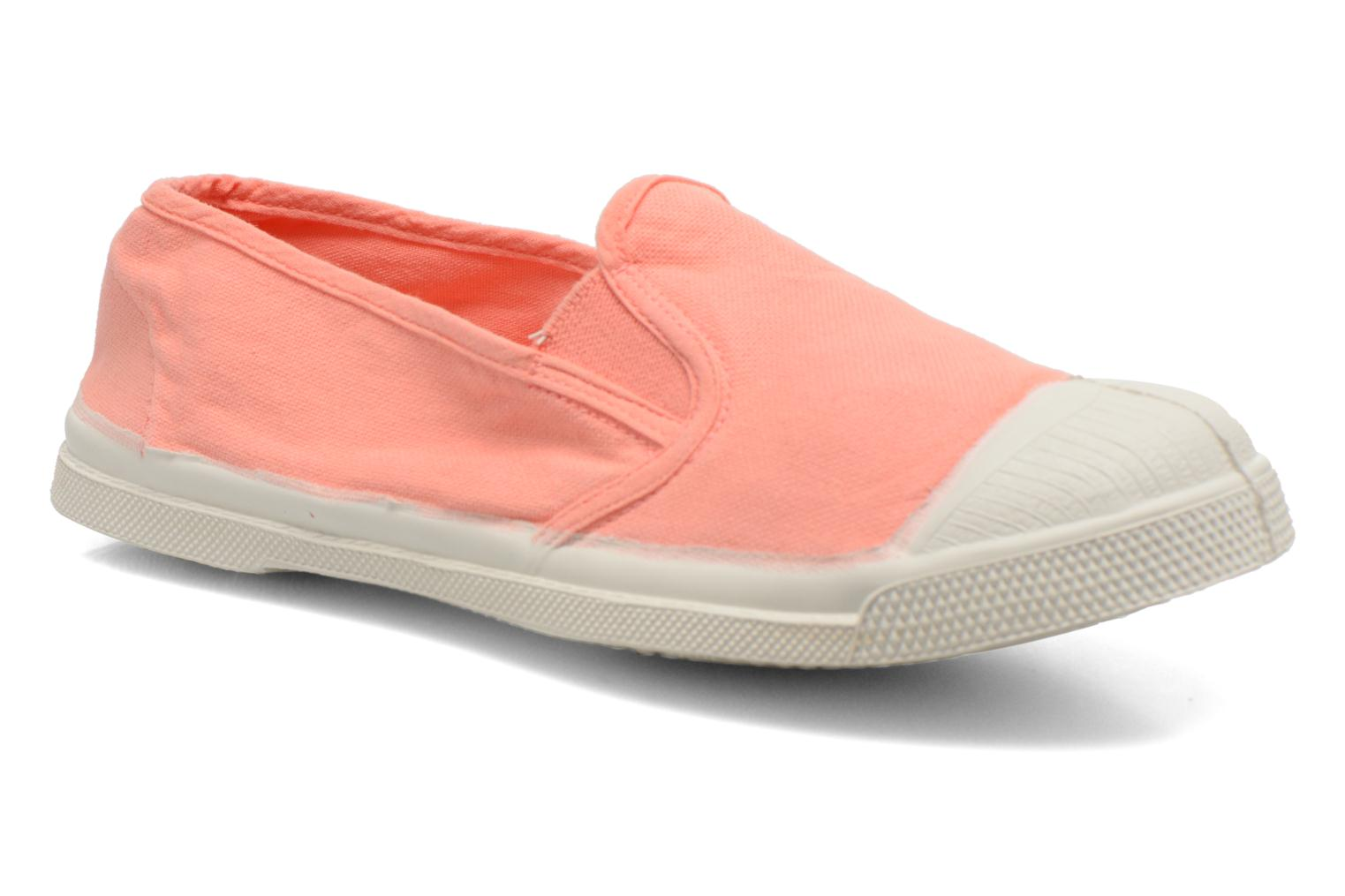 Trainers Bensimon Tennis Tommy F Orange detailed view/ Pair view