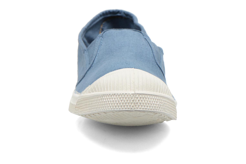 Baskets Bensimon Tennis Tommy F Bleu vue portées chaussures