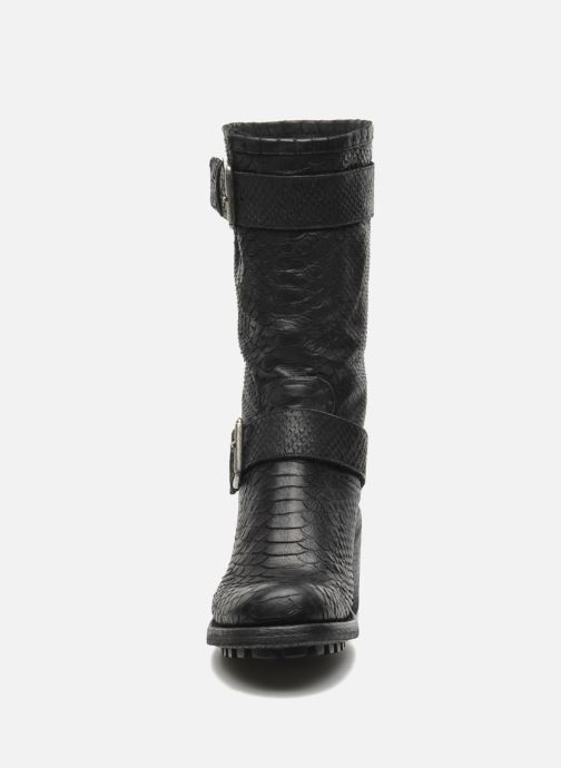 Stiefeletten & Boots Free Lance Biker 7 Mid Strap schwarz schuhe getragen