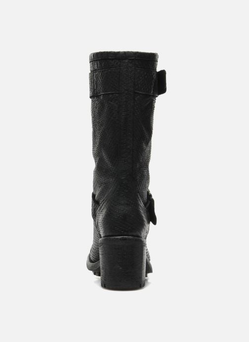 Ankle boots Free Lance Biker 7 Mid Strap Black view from the right