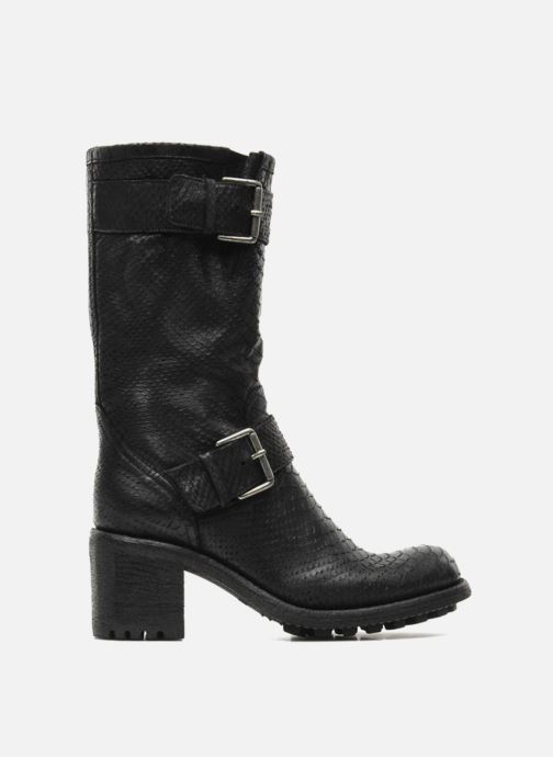 Ankle boots Free Lance Biker 7 Mid Strap Black back view