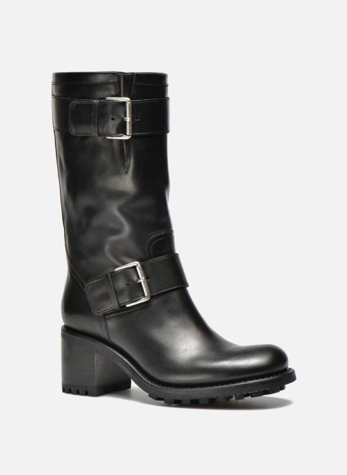 Ankle boots Free Lance Biker 7 Mid Strap Black detailed view/ Pair view