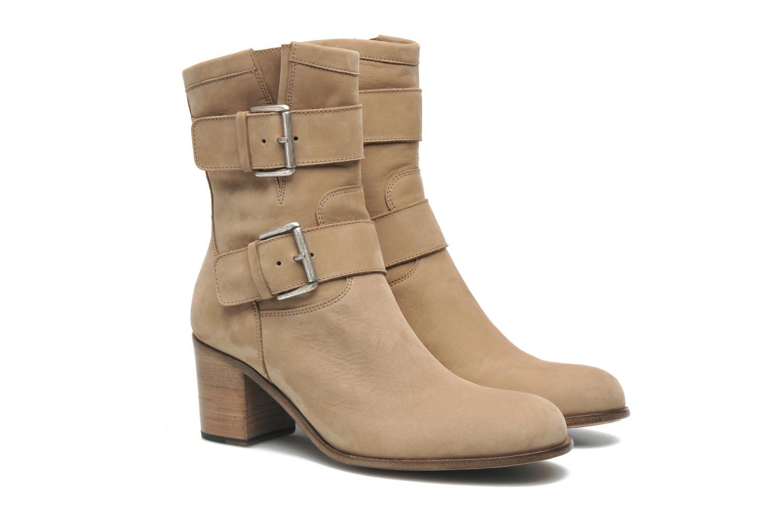 Bottines et boots Free Lance Azev 7 mini strap Marron vue 3/4