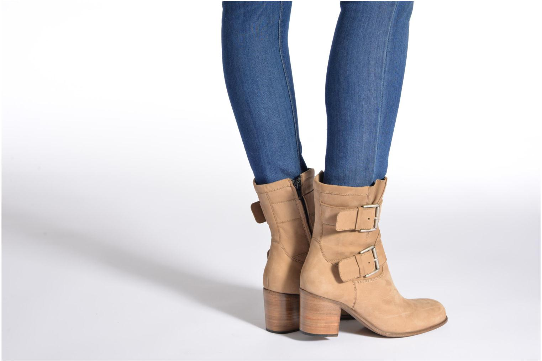 Bottines et boots Free Lance Azev 7 mini strap Marron vue bas / vue portée sac