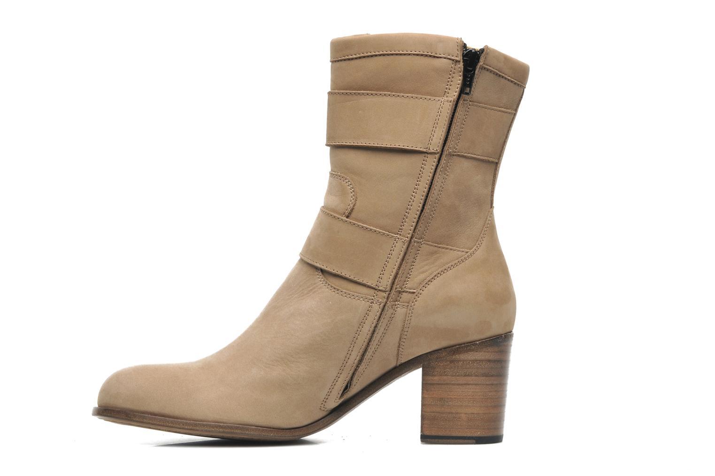 Bottines et boots Free Lance Azev 7 mini strap Marron vue face